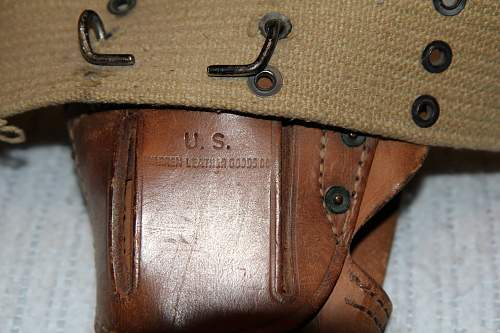 1911A1 Warren Leather Goods Co Holster