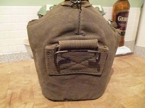 Suspect canteen cover?