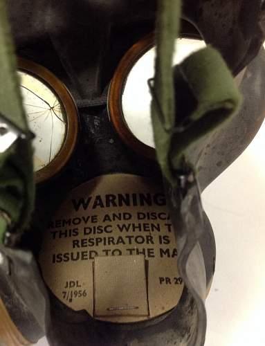 Unissued British Assault Gas Mask