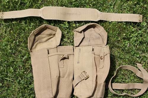 Bren Gun pouches