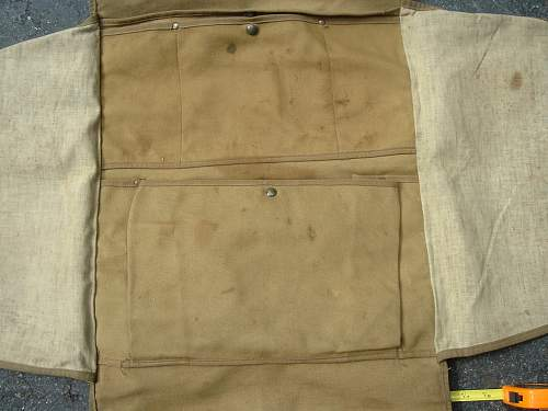 HELP Identify Military Map or Document bag Back pack