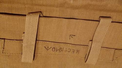 Early War British Officer's Pattern 1937  Webbing Set (MECᴼ 1938-1941)