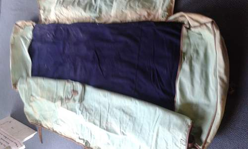 Canvas Bed Roll with Mattress