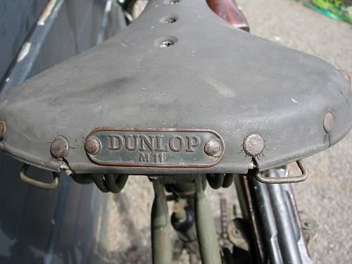 Rigid infantry bike