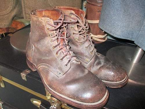 1930's French Trench boots.