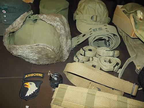 Small USMC field gear lot.