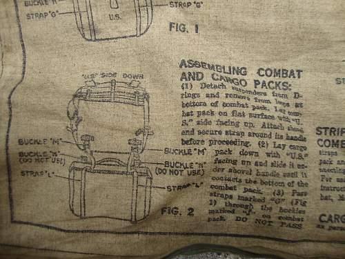 Pack,Field,cargo , M- 1945.