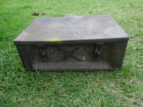 What was this old container used for . 1937 impressed  ?