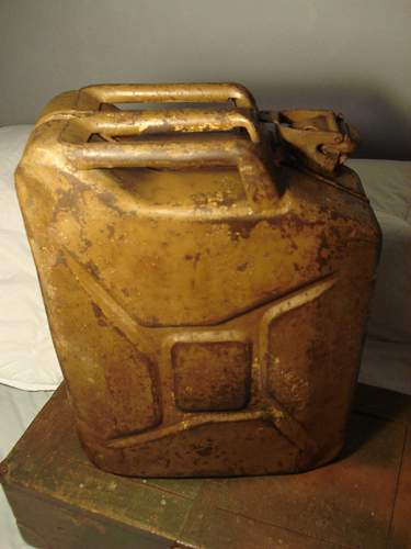 British Jerry Can 1945