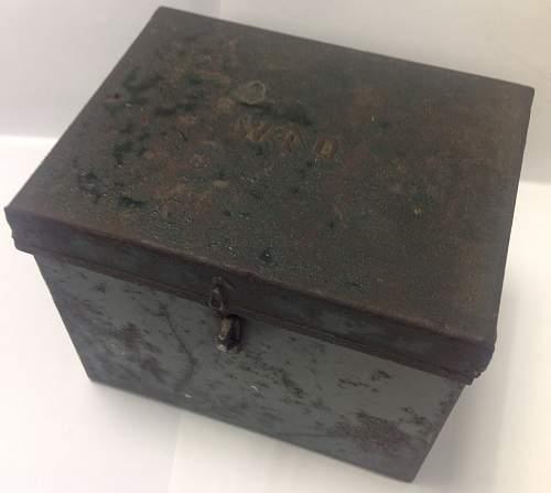 Unidentified British Tin