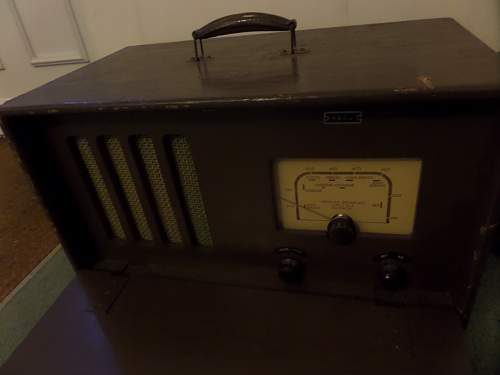 British Army WD marked radio