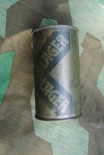 WW2 Camo Beer Can