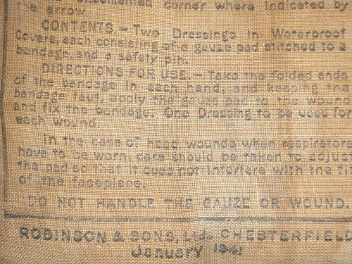 Click image for larger version.  Name:First Field Dressing, dated 1942 (Rear view).jpg Views:181 Size:263.2 KB ID:74009