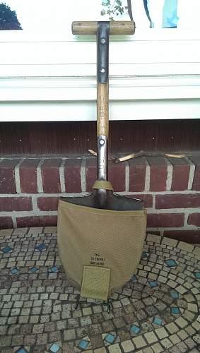 M1910 US T-Handle Shovel