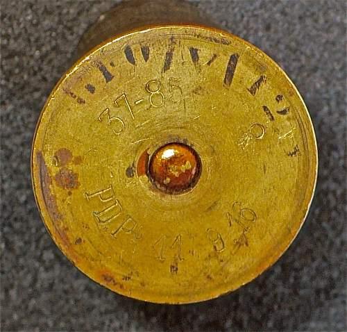 Two Brass (Flare?) Casings; Help ID, Please
