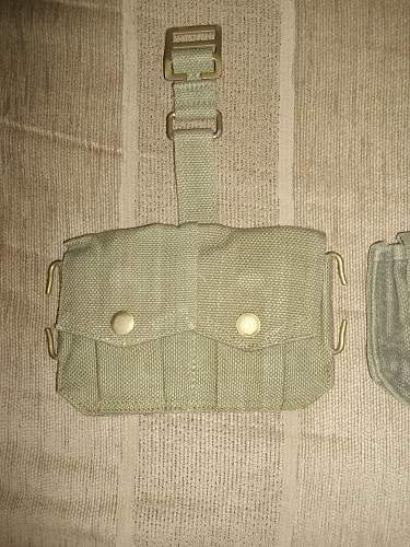 Foreign 37 Pattern Cartridge Pouches