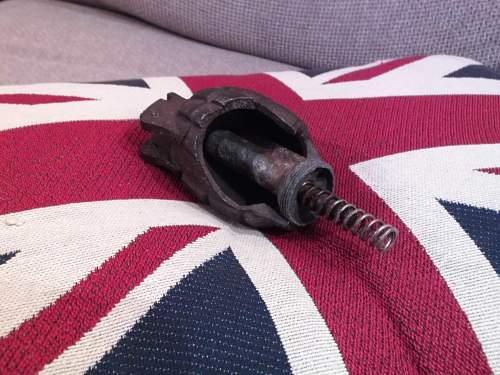 WW2 1943 M36 Mk1 Mills Bomb Grenade