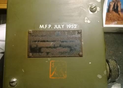 Tank Interphone Control Box BC-606 unit  stensil identification needed