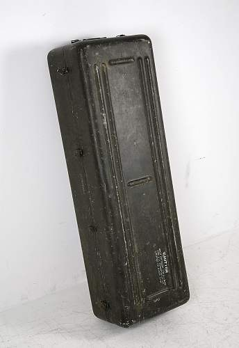 American ww2 or korea container, what is it for?