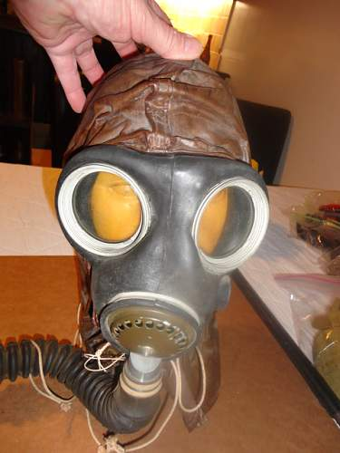 Canadian Gas Hood, NOT Helmet Cover