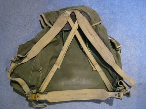 Post War Commando Rucksack
