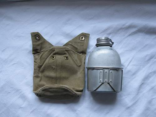 Click image for larger version.  Name:M45-50 water bottle carrier with bottle and cup.jpg Views:305 Size:157.3 KB ID:766774