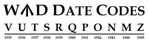 War Department Date Codes of WWII