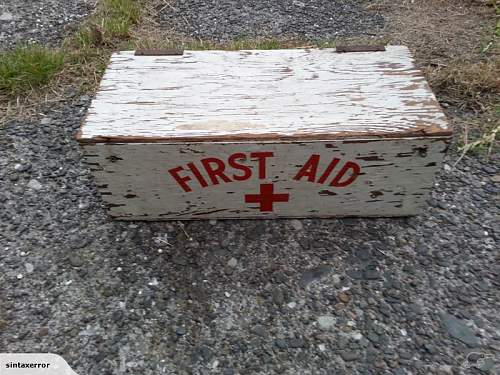 Commonwealth first aid box??