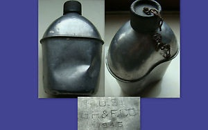 Nice example of an WW2 original S.M Co canteen.
