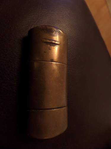 British army 1945 dated lighter