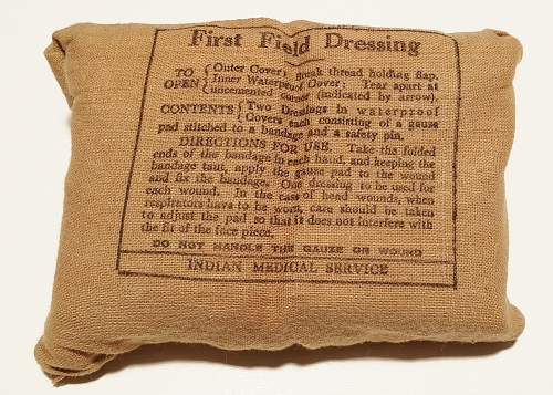 First Field Dressings: They're not all Australian!