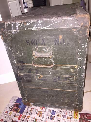Stanley Works crate Estate Sale find on 1-17-15