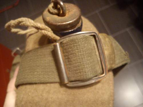 My first british canteen