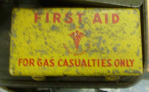 Jeep Gas Casualty Kit.