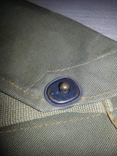 WW2 American Gas Mask Bag, type?
