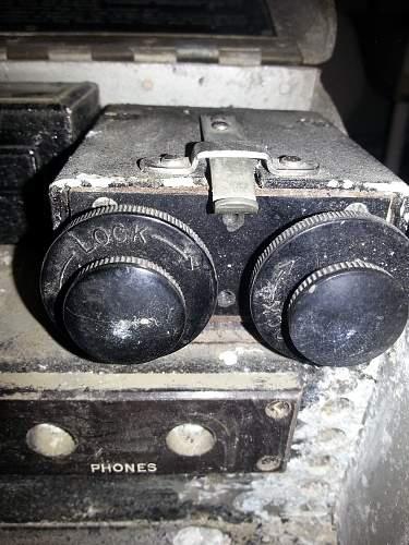 Wireless remote control unit A, serial no.4869, for wireless set No.11
