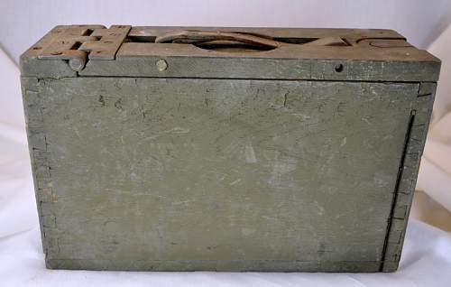 US Wood ammo box