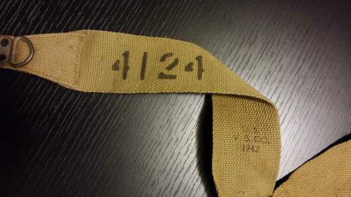 US M1936 Suspenders...does anybody recognize the stencil?