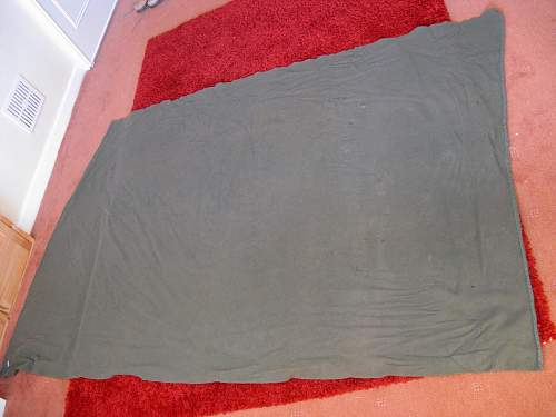 Possible British Army blanket