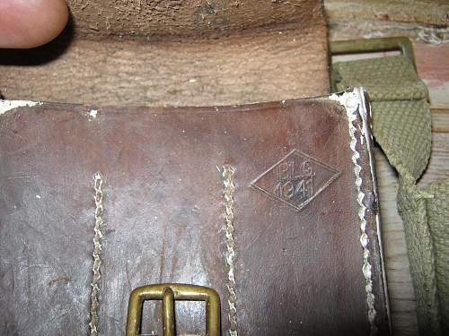 British leather pouch, but for what?