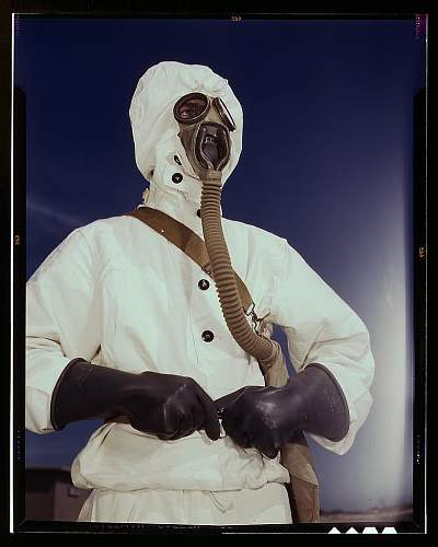 US Army/Navy M.II Diaphragm gas mask