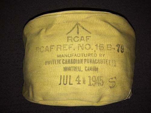 R.C.A.F. Parachute Realted Item