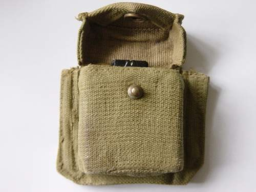 Click image for larger version.  Name:1937 pattern webbing compass pouch 001.jpg Views:792 Size:151.5 KB ID:82539