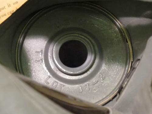 Super mint US ww2 gas mask