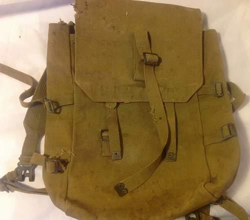 1919 Pattern Rucksack