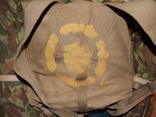 USMC Knapsack WWII