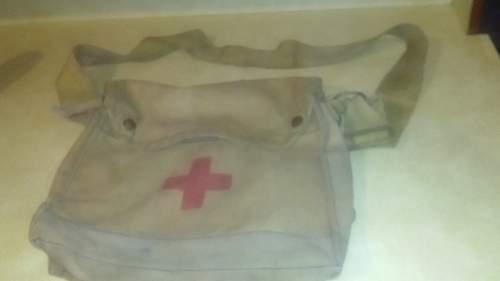Gas mask/medic bag??