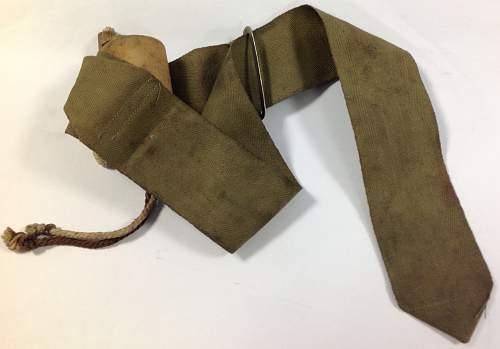 Possible military tourniquet