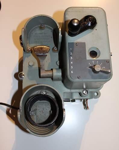 Naval Mark 16 Telephone London 1956