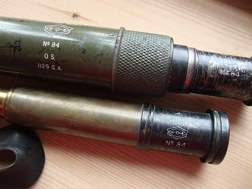Telescope flash spotting MKII -post war???
